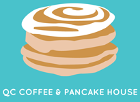 QC Coffee and Pancake House logo